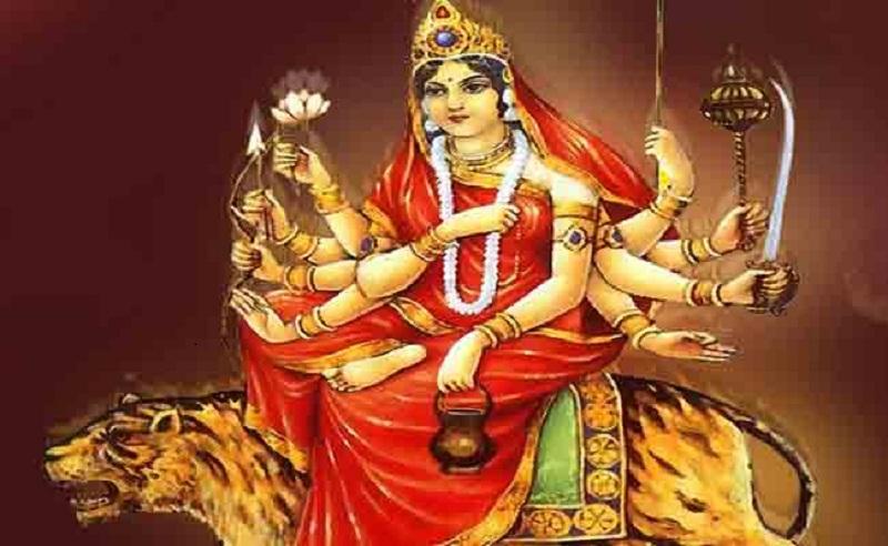 गुरूवार को नवरात्र का तीसरा दिन है।