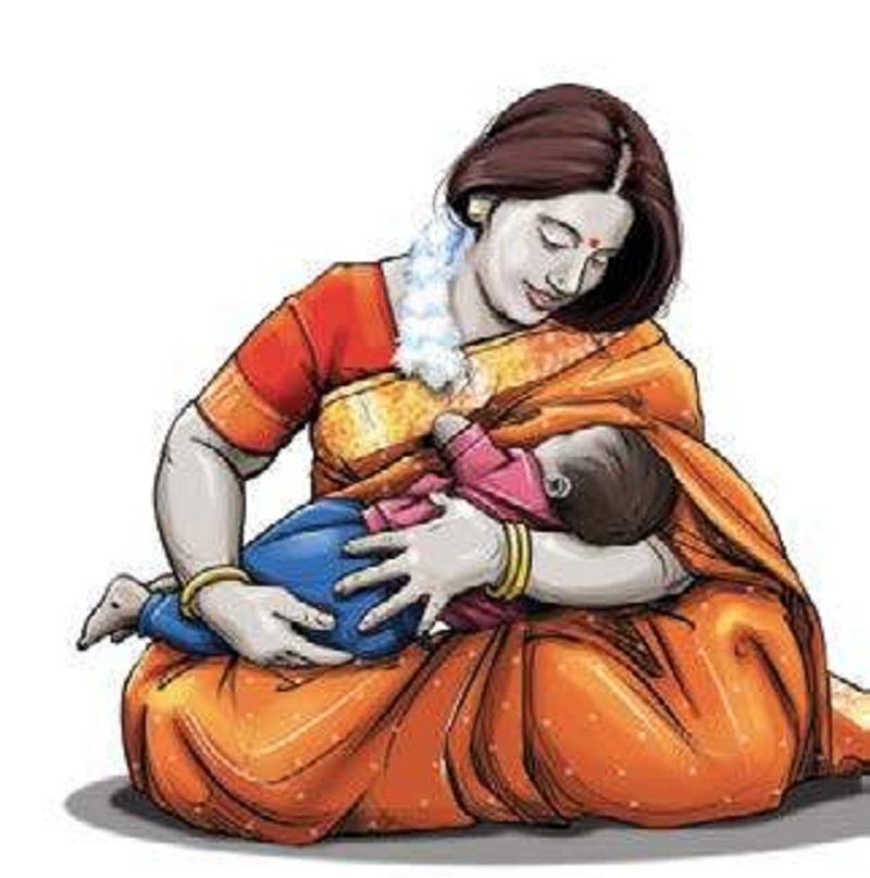 मां का दूध बच्चे के लिए अमृत समान है।